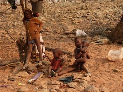 Himba children.