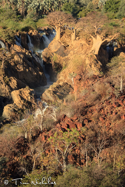 Epupa Falls late afternoon