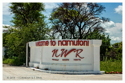 Welcome to Namutoni