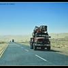 Trucks in the Desert
