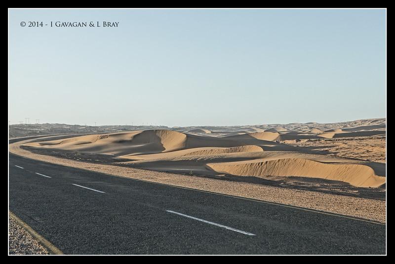 Crescent Sand Dunes