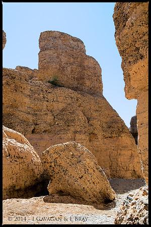 Inside Sesriem Canyon
