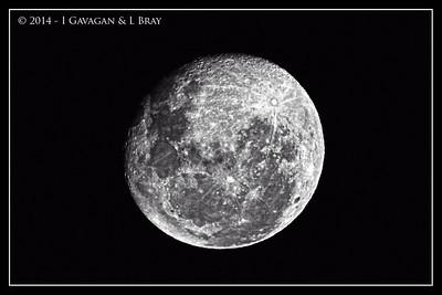 Moon at Sesriem