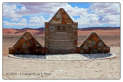The Namib Sand Sea