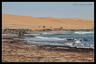 Swakopmund to Walvis Bay