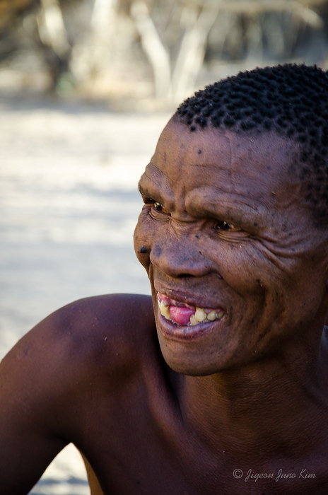 Bushmen elder