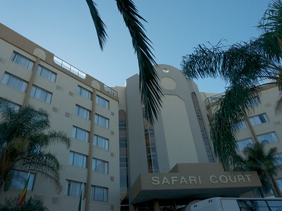 The hotel we stayed outside of Windhoek, the capital of Namibia.