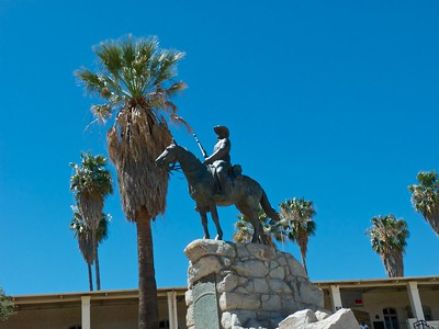 The Equestrian Monument, more commonly known under its German original name Reiterdenkmal. It was inaugurated on January 27, 1912, the birthday of German emperor Wilhelm II. The monument honors the soldiers and civilians that died on the German side of the Herero and Namaqua War of 1904–1907.  This is a controversy in a democratic Namibia that has shed its colonial occupation and gained independence.