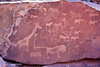 Old rock carvings