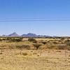 landscape between Swakopmund and Etosha