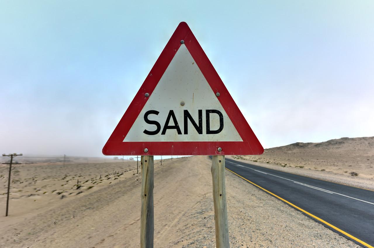 Sand Sign - Namibia