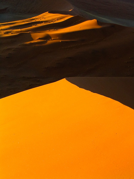 dunes at Sossusvlei, Namib-Naukluft N.P.