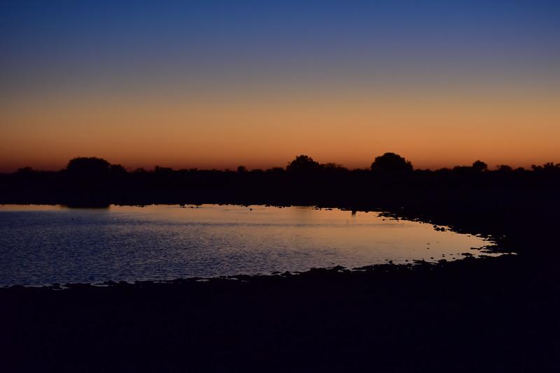 Etosha, Namibia at Sunrise