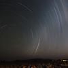 <em><b><center> Star trails over The NamibRand Nature Reserve
