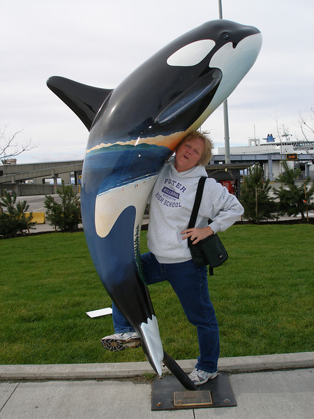 Jackie, in love with the Orca