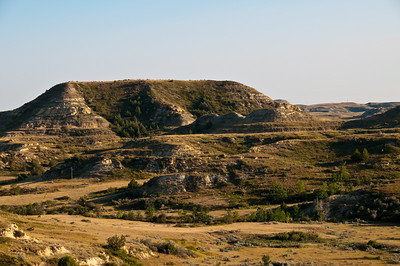 More Badlands. I don't think they're so bad, but I guess that's because we have roads, air conditioning, and lots of Coca-Cola. It might indeed be pretty bad if you're a pioneer with livestock and wagon trains.