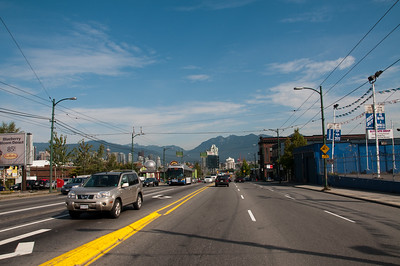 Another street-level shot of Vancouver.