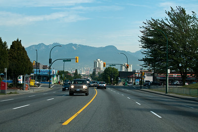 Vancouver is a farily pleasant city, and they've got such a pretty background.