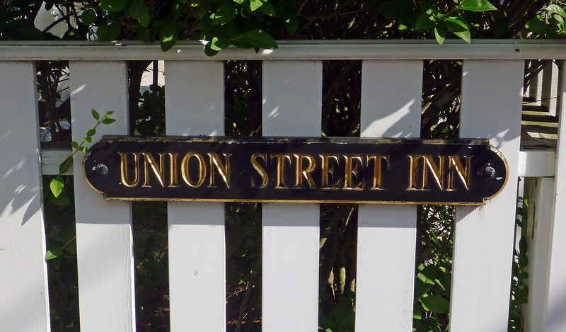 Union Street Inn where we stayed in Nantucket