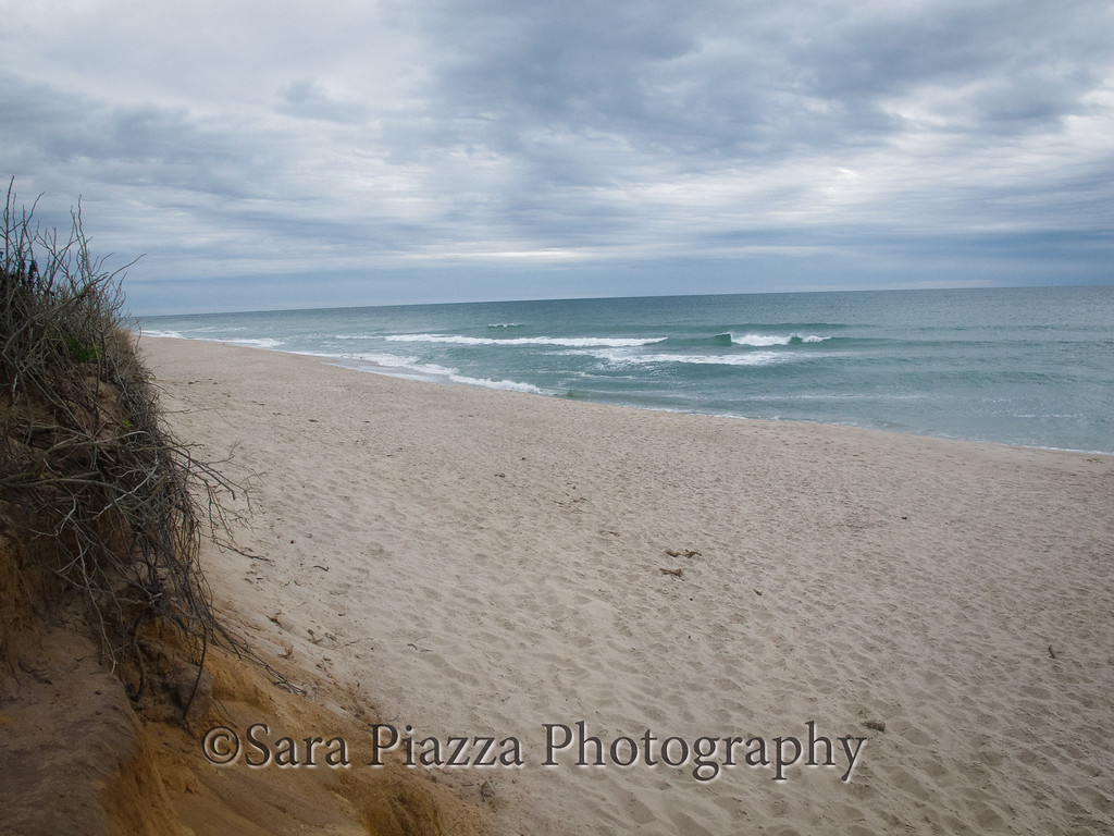 Of course, I had to check the surf. Cisco Beach is a 10-minute drive from downtown Nantucket. I met a lone surfer, on his way home, who told me that this was a pretty good break, but that today was lousy. I can see that this place has potential.