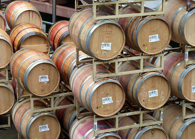 barrels ready to be shipped/bottled