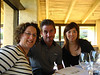 Tab, Scott & Grace - Dinner at Robert Mondavi Winery