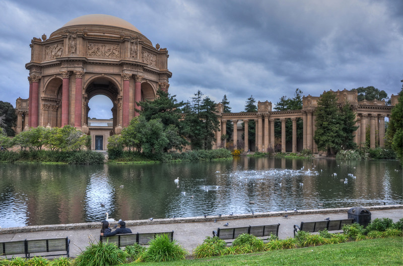 Another HDR at the Palace of Fine Arts.