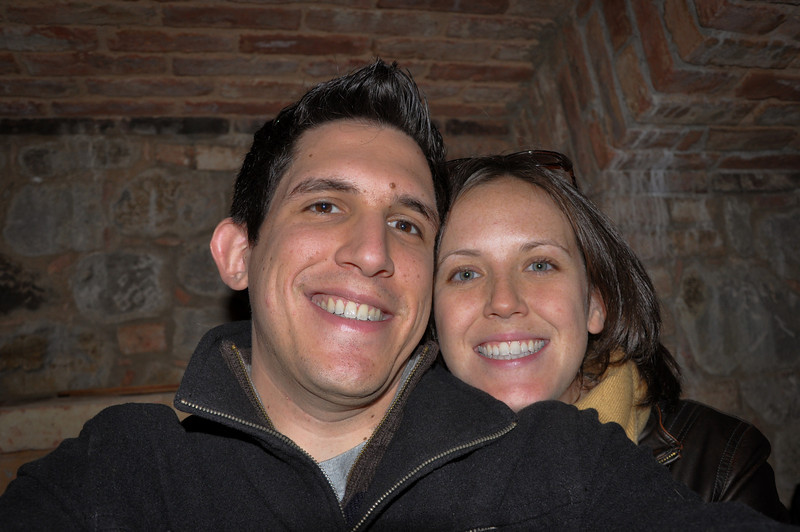 This is my first (and probably only) attempt at taking a picture myself of Sasha and I with my big, clunky digital SLR. Not as easy as with the point and shoot!