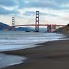 Golden Gate as seen from Baker Beach, SFO