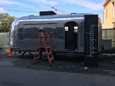 Airstream food truck build