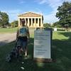 Nashville Parthenon & tourists