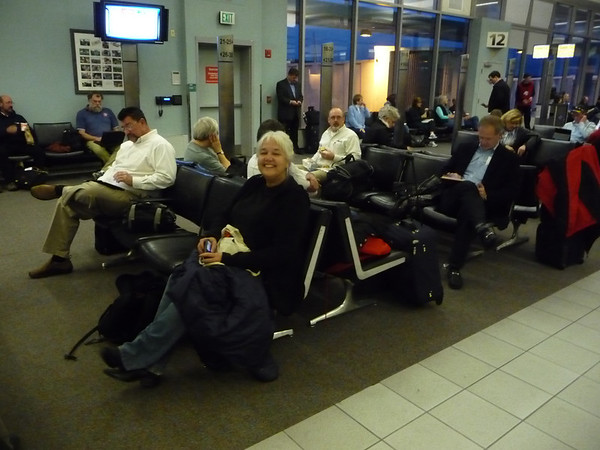 Carla waiting to leave for Nashville
