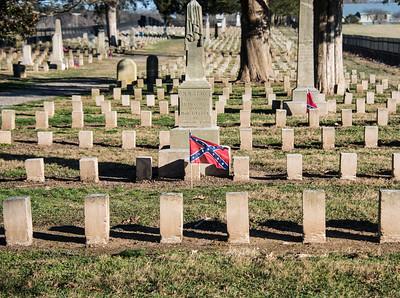 Confederate Army Cemetary near Franklin, Tenn