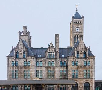 Union Station Hotel....Railway station turned fashionable hotel
