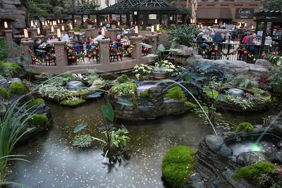 Opryland Hotel...combo of Disneyland, NurseryLand and Vegas....crazy place