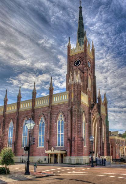 St. Mary Basilica, Natchez, Mississippi. Exterior.