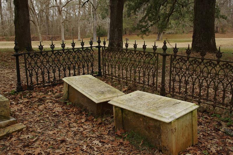 Old graveyard, Natchez Trace Parkway, near Natchez, Mississippi.