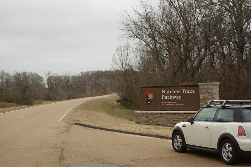 "Start of the Natchez Trace Parkway in Natchez, Mississippi.<br /> <a href=""http://www.nps.gov/natr/index.htm"">http://www.nps.gov/natr/index.htm</a>"