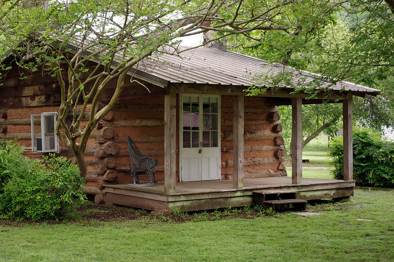 Writer's cabin, Melrose Plantation, near Natchitoches, Louisiana.