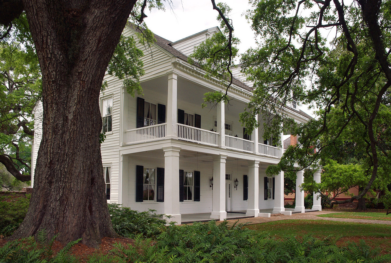 The Prudhome-Rouquier House on Jefferson Street, Natchitoches, Louisiana.
