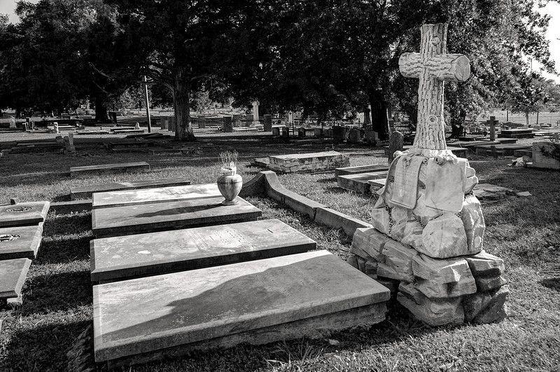 Catholic Cemetery, Natchitoches, Louisiana.