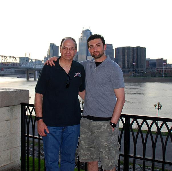 Raymond Finkleman and his nephew, Brett Finkleman.