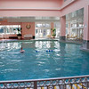 The indoor pool at the Broadmoor.