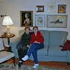 Barbara Finkleman and Jean Finkleman at Barbara's condominium apartment in Denver.