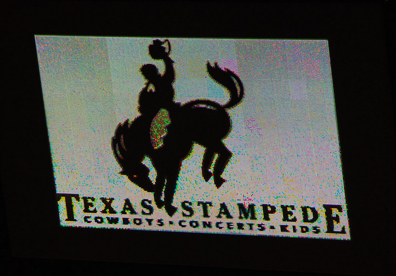 The Texas Stampede Rodeo at the American Airlines Center.