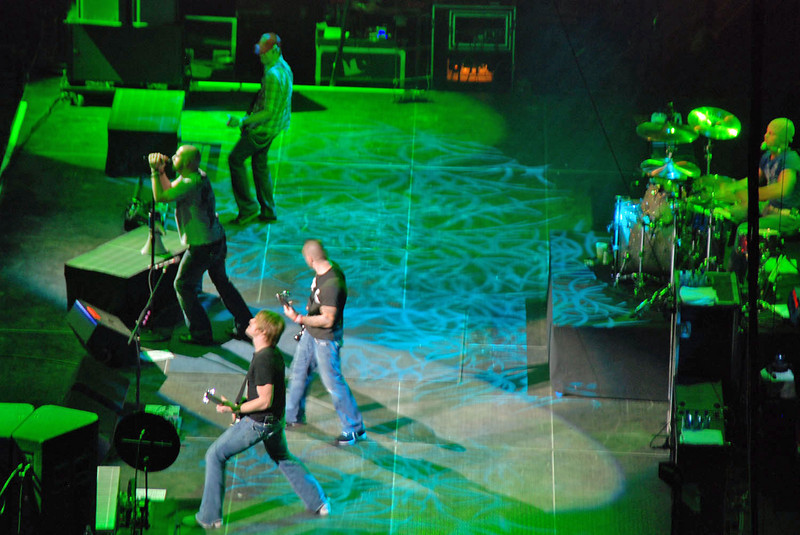 Rodeo concert by DAUGHTRY.