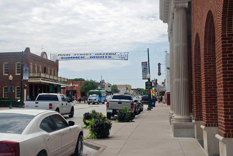 Downtown Grapevine, Texas.