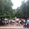 A farmer's market in downtown Grapevine, Texas.