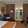 Our room at the Gaylord Texan Resort.