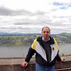 Raymond Finkleman at the Columbia River Gorge.